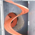 Transporterji (osni in brezosni), spiralne preše